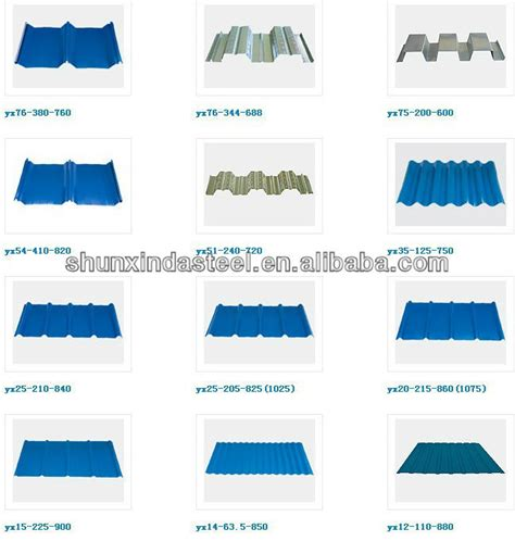 sheet types types of zinc roof sheet price pressed galvanized iron