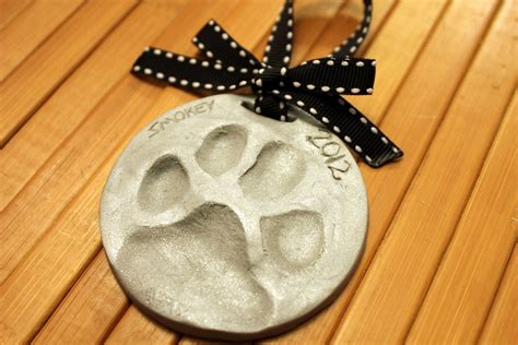 how to your to paw learn how to make your own paw print ornaments for the holidays