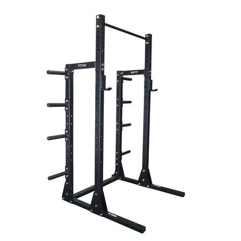 squat bench pull up rack x 3 squat rack w pull up bar plate holders short power