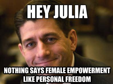 Julia Meme - hey julia it s paul ryan theblaze