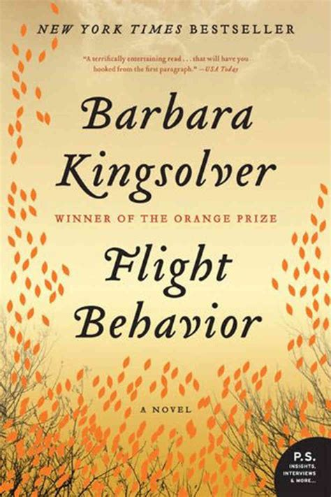 Barbar Kingsolver Flight Behavior flight behavior npr