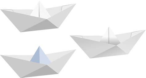 Origami Kapal Boat - kostenlose vektorgrafik boot falten gefaltet papier