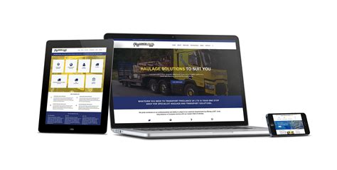 design freelance websites moving up a gear for freelance haulage and a e mechanical