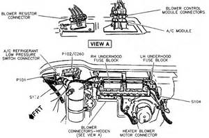 92 oldsmobile 88 royale blower motor manual climate