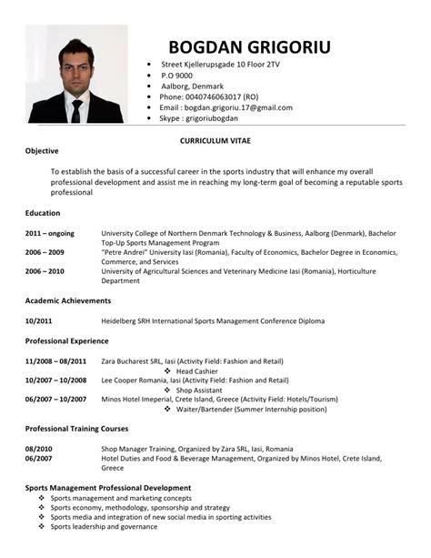 Curriculum Vitae Of by Erg 252 N Atik Curriculum Vitae