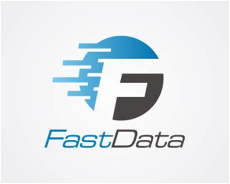 design logo huruf f fast data f logo designed by danoen brandcrowd