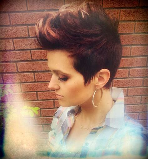 how do i highlight my pixie cut 812 b 228 sta bilderna om mohawk for the woman p 229 pinterest