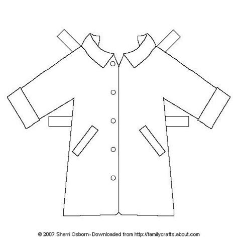 rain jacket coloring page paper doll outerwear rain jacket dolls and sunday