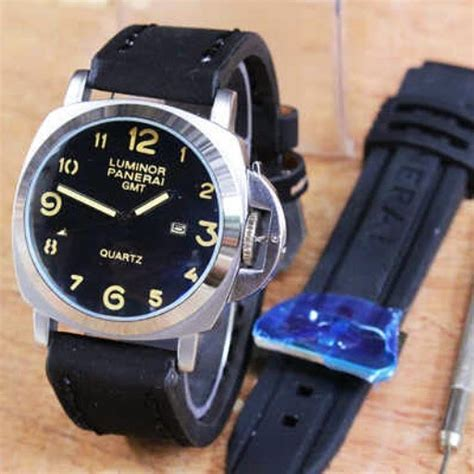 Grosir Jam Swiss Army Sa1151 Silver Hitam Original luminor gmt hitam ring silver plat hitam grosir supplier
