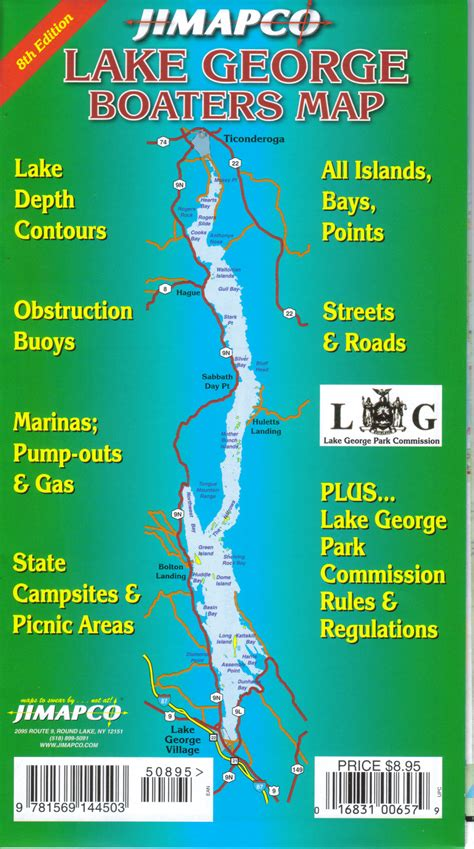 map of lake george ny map of lake george islands my