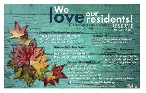 Ros S Flyer For Resident Appreciation Week Resident Events Pinterest Flyers Resident Appreciation Week Flyer Template