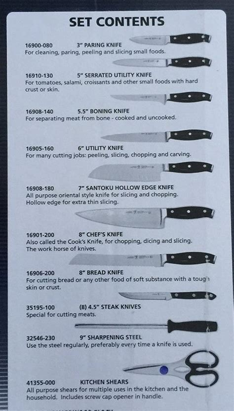 JA Henckels Knife Sets   DON'T BUY BEFORE YOU READ!