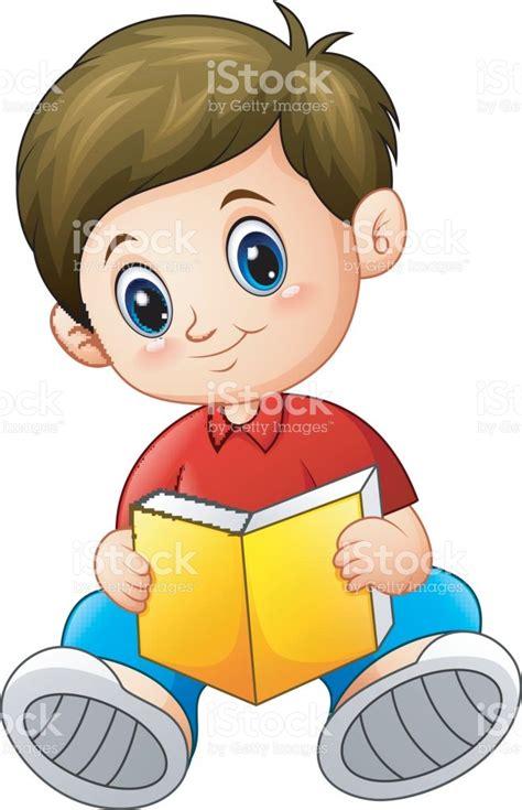 imagenes animadas leer dibujos animados de ni 241 o leyendo un libro illustracion