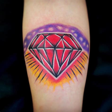 diamonds tattoos 75 best designs meanings treasure for