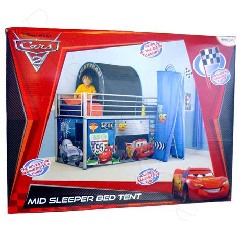 cars bed tent disney cars 2 mid sleeper bed tent cabin new official ebay