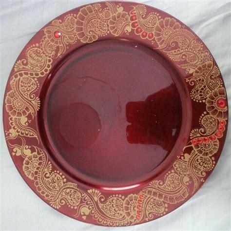 henna design plate 42 best images about festive decor on pinterest