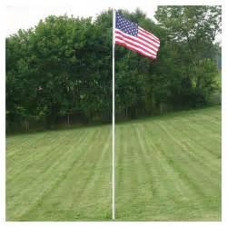 retractable 4 section outdoor fiberglass flag pole 12ft