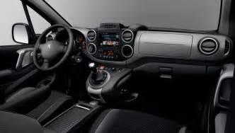 Peugeot Partner Interior Peugeot Partner Y Partner Tepee 2015