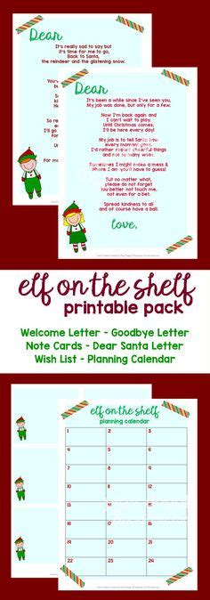 on the shelf card template re usable ms word template from santa letter templates