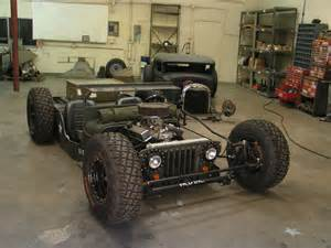willys jeep rat rod cars and bikes