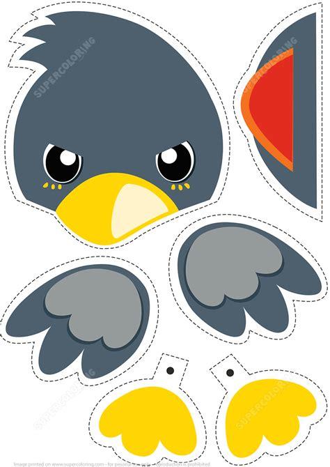 Free Paper Bird Cutouts