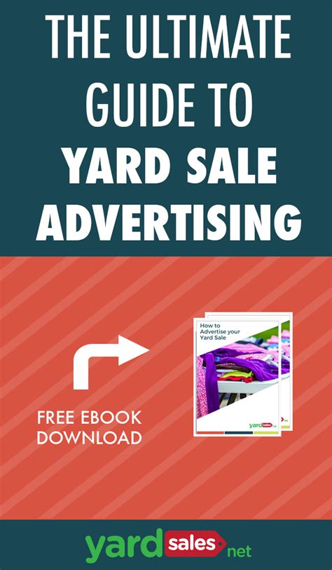 the ultimate guide to advertising a yardsale free ebook