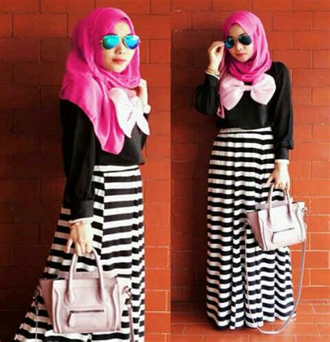 Dress Murah Dress Wanita Maxi pin muslimah maxi dress on