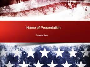 american powerpoint templates painted american flag powerpoint template authorstream