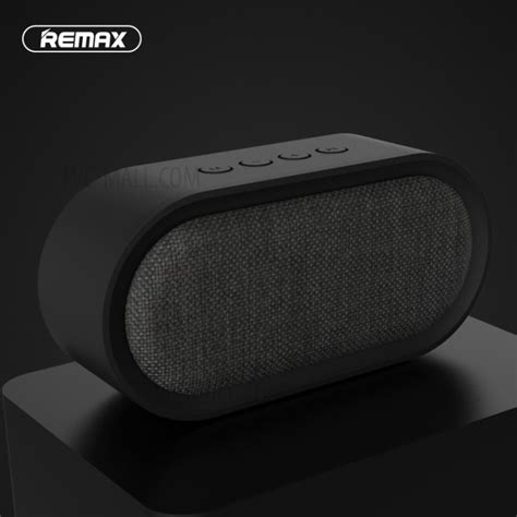 Remax Fabric Bluetooth Speaker With Usb Sound Card Rb M17 remax m11 portable fabric bluetooth 4 2 speaker with microphone support tf card aux in black