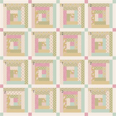 The Quilt by The Apple Bloom Quilt Tildas World