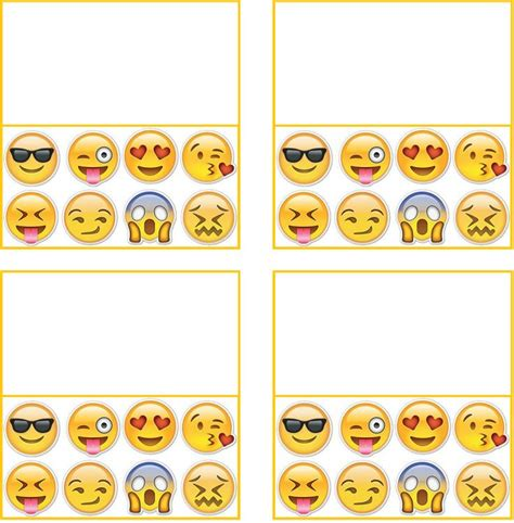 printable emojis 138 best images about emoji party on pinterest emoji