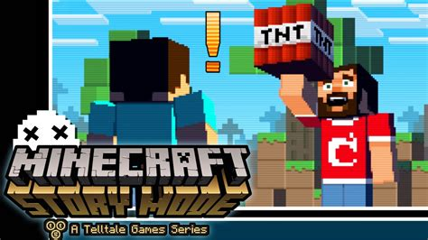 game mode in minecraft minecraft story mode a telltale game what the x x youtube