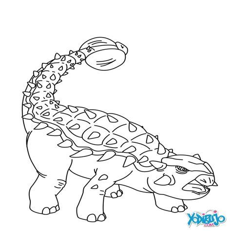 imagenes escolares para colorear dibujos para colorear anquilosaurio para imprimir es
