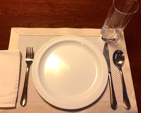 simple place setting table setting etiquette