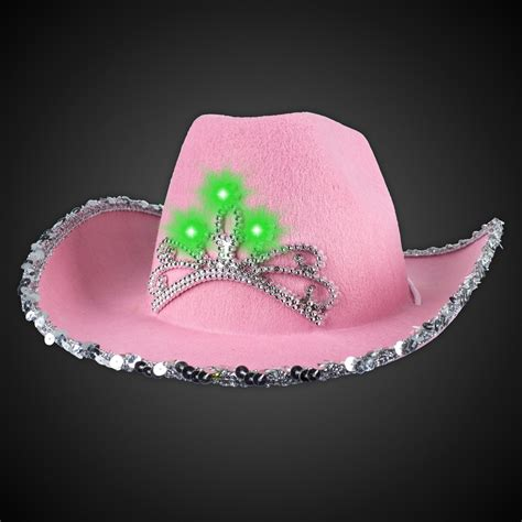Cowboy Hat Pink pink led cowboy hat pink shop by color