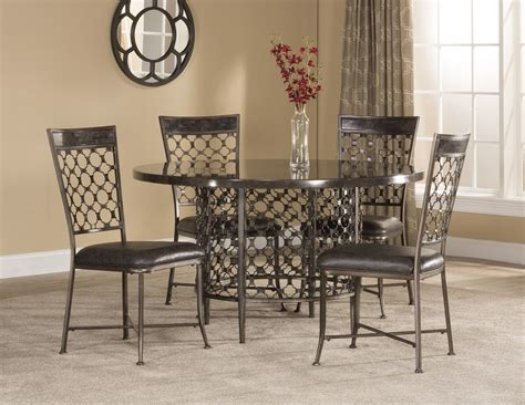 Buy Dining Room Set by Hillsdale Brescello 5 Piece Round Dining Room Set Buy