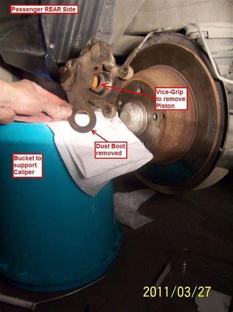 diy   brake hydraulic overhaul hoses seals