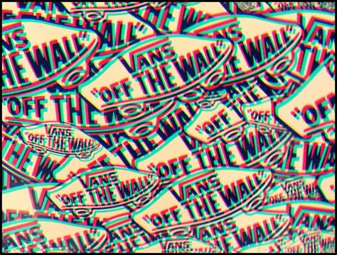 wallpaper vans 3d vans vans of the wall skateboarding skate 3d image