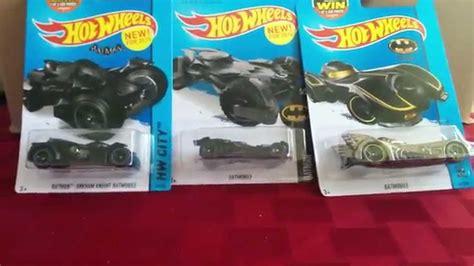 Wheels Batman Superman Set Of 2 2016 quot batman quot set of 3 batmobiles from quot wheels