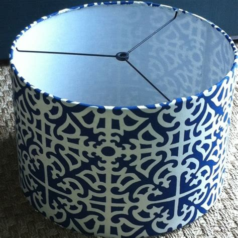 blue and white l shade navy and white swirl table l shades of light