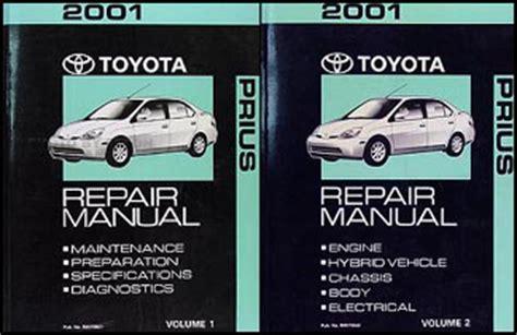 how to download repair manuals 2001 toyota prius parking system 2001 toyota prius repair shop manual set original