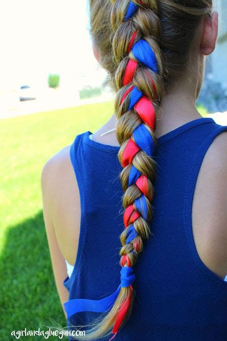 natural hair braids for kids fourth of july hairstyles 20 4th of july hairstyles for kids girls 2016 fourth