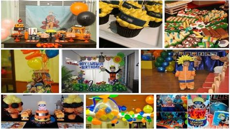 decoracion fiestas infantiles youtube decoracion de naruto para fiestas infantiles youtube