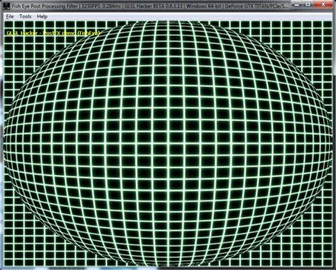 glsl layout qualifier version shader library fish eye dome and barrel distortion glsl
