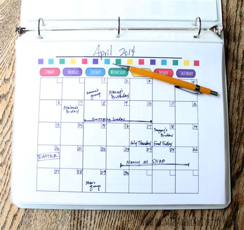month at a glance calendar template 7 best images of month at a glance printable blank month