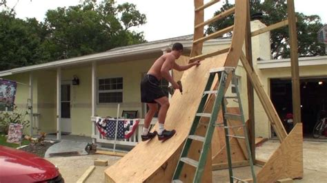 american ninja warrior backyard need to build and practice the warped wall ninja