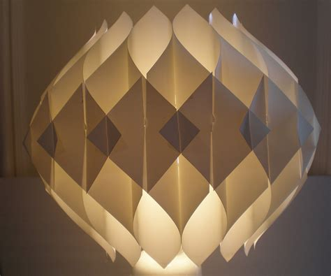 Paper Lighting Fixtures Mid Century Modern Origami Shade Hanging Fixture