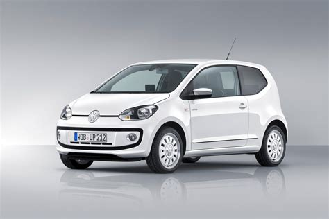 volkswagen up vw unveils production version of up city car carscoops com