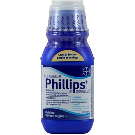 Milk Of Magnesia And Detox by Buy Phillips Milk Of Magnesia Usp 350 Ml In Canada