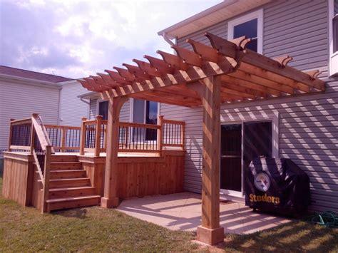 pergola 006 custom built fence deck